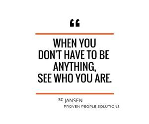 Talent nie odpoczywa. zawsze jesteś sobą. Szczególnie wtedy, kiedy nic nie musisz a wszystko możesz